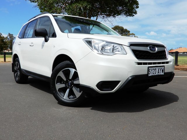 Used Subaru Forester S4 MY13 2.5i Lineartronic AWD Glenelg, 2013 Subaru Forester S4 MY13 2.5i Lineartronic AWD White 6 Speed Constant Variable Wagon