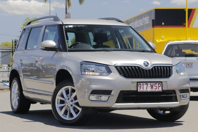 Used Skoda Yeti 5L MY16 81TSI DSG Active Rocklea, 2015 Skoda Yeti 5L MY16 81TSI DSG Active Cappuccino 7 Speed Sports Automatic Dual Clutch Wagon