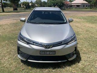 2019 Toyota Corolla Mzea12R ZR Silver Pearl 10 Speed Constant Variable Sedan.
