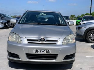 2009 Toyota Corolla ZRE152R Ascent Silver 4 Speed Automatic Hatchback