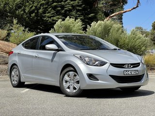 2011 Hyundai Elantra HD MY10 SX Silver 4 Speed Automatic Sedan.