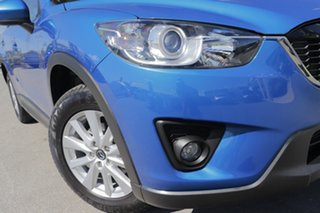 2013 Mazda CX-5 KE1021 MY13 Maxx SKYACTIV-Drive AWD Sport Sky Blue 6 Speed Sports Automatic Wagon.