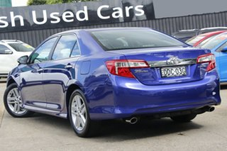 2014 Toyota Camry ASV50R Atara SL Blue 6 Speed Sports Automatic Sedan.