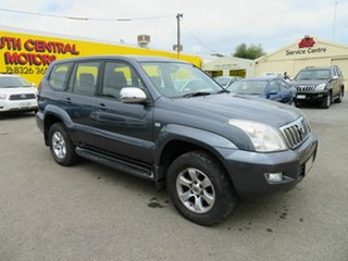 2005 Toyota Landcruiser Prado KZJ120R GXL (4x4) Grey 4 Speed Automatic Wagon.