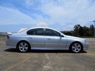 2006 Ford Falcon BF Mk II XR6 Silver 4 Speed Sports Automatic Sedan.
