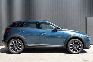 2020 Mazda CX-3 CX-3 F 6AUTO AKARI PETROL AWD Eternal Blue Wagon.