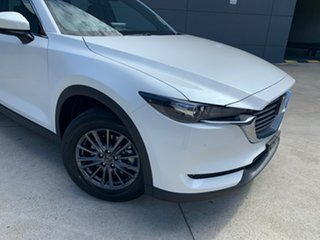 2020 Mazda CX-8 KG2WLA Touring SKYACTIV-Drive FWD Snowflake White 6 Speed Sports Automatic Wagon.