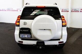 2018 Toyota Landcruiser Prado GDJ150R GXL Glacier White 6 Speed Sports Automatic Wagon