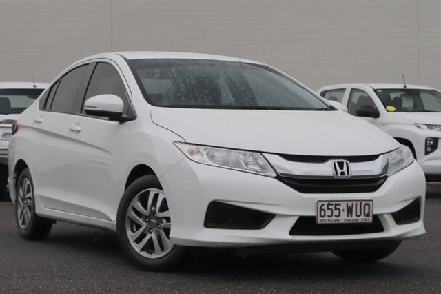 Used Honda City GM MY16 VTi Windsor, 2016 Honda City GM MY16 VTi White 1 Speed Constant Variable Sedan