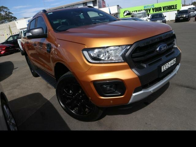 Used Ford Ranger Kingswood, Ford RANGER 2019.75 DOUBLE PU WILDTRAK . 2.0L BIT 10 4X4