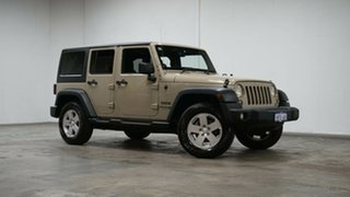 2018 Jeep Wrangler JK MY18 Unlimited Sport Cream 5 Speed Automatic Softtop.