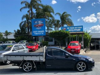 2012 Ford Falcon FG MkII XR6 Blue 6 Speed Sports Automatic Cab Chassis.