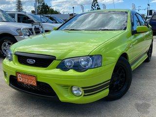 2006 Ford Falcon BF XR6 Green 6 Speed Sports Automatic Sedan.