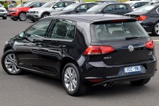 2014 Volkswagen Golf VII MY15 90TSI DSG Comfortline Black 7 Speed Sports Automatic Dual Clutch.