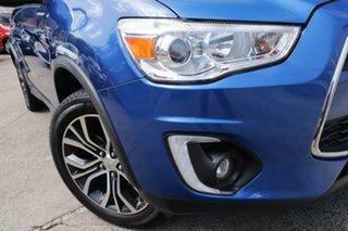 2015 Mitsubishi ASX XB MY15.5 LS (2WD) Continuous Variable Wagon.