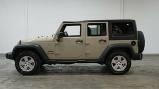 2018 Jeep Wrangler JK MY18 Unlimited Sport Cream 5 Speed Automatic Softtop