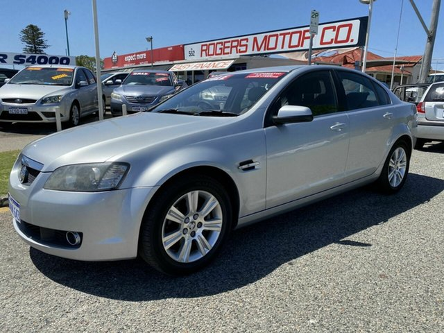 Used Holden Calais VE MY08 Victoria Park, 2008 Holden Calais VE MY08 Silver 5 Speed Automatic Sedan