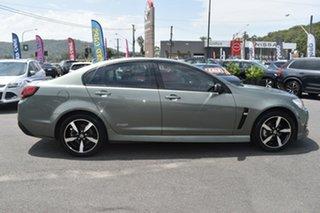 2016 Holden Commodore VF II MY16 SV6 Black Grey 6 Speed Sports Automatic Sedan.