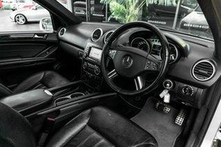 2008 Mercedes-Benz M-Class W164 MY08 ML350 Silver 7 Speed Sports Automatic Wagon