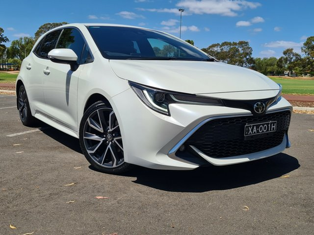 Used Toyota Corolla ZRE182R ZR S-CVT Nailsworth, 2018 Toyota Corolla ZRE182R ZR S-CVT White 7 Speed Constant Variable Hatchback