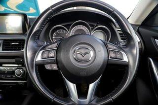 2015 Mazda 6 GJ1032 GT SKYACTIV-Drive Crystal White Pearl 6 Speed Sports Automatic Sedan