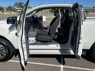 2018 Mazda BT-50 UR0YG1 XT Freestyle 4x2 Hi-Rider White 6 Speed Manual Cab Chassis