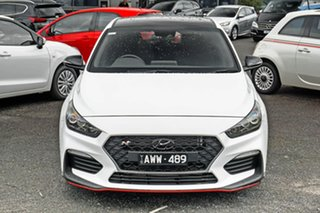 2018 Hyundai i30 PDe.3 MY19 N Fastback Performance White 6 Speed Manual Coupe
