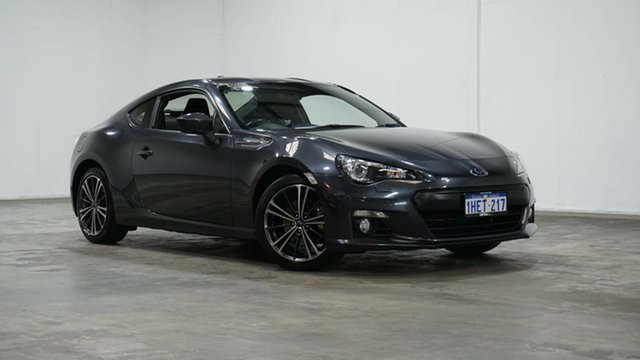Used Subaru BRZ Z1 MY15 Welshpool, 2014 Subaru BRZ Z1 MY15 Grey 6 Speed Sports Automatic Coupe