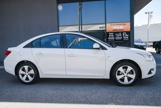 2013 Holden Cruze JH Series II MY13 CD White 6 Speed Sports Automatic Sedan.