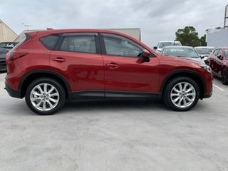 2013 Mazda CX-5 KE1021 Grand Touring SKYACTIV-Drive AWD Red 6 Speed Sports Automatic Wagon.