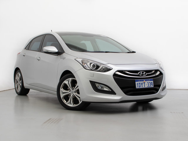 Used Hyundai i30 GD Premium, 2012 Hyundai i30 GD Premium Silver 6 Speed Automatic Hatchback