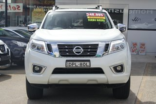 2017 Nissan Navara D23 S3 ST-X White 7 Speed Sports Automatic Utility