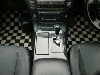 2007 Toyota Crown Athlete Black Automatic Sedan