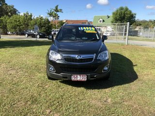 2013 Holden Captiva CG MY13 5 AWD LTZ Black 6 Speed Sports Automatic Wagon.