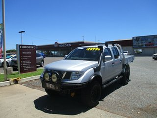 2014 Nissan Navara D40 S8 RX Silver 5 Speed Automatic Cab Chassis.