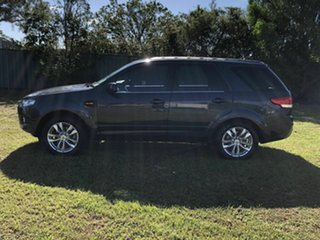 2012 Ford Territory SZ TS Seq Sport Shift Green 6 Speed Sports Automatic Wagon