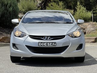 2011 Hyundai Elantra HD MY10 SX Silver 4 Speed Automatic Sedan