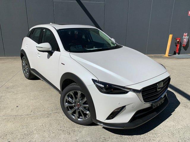 New Mazda CX-3 DK2W7A Akari SKYACTIV-Drive FWD LE Alexandria, 2020 Mazda CX-3 DK2W7A Akari SKYACTIV-Drive FWD LE Snowflake White 6 Speed Sports Automatic Wagon