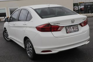 2016 Honda City GM MY16 VTi White 1 Speed Constant Variable Sedan.