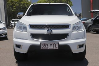2014 Holden Colorado RG MY15 LTZ Crew Cab White 6 Speed Sports Automatic Utility