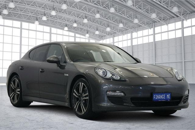 Used Porsche Panamera 970 MY12 PDK Victoria Park, 2012 Porsche Panamera 970 MY12 PDK Grey 7 Speed Sports Automatic Dual Clutch Sedan