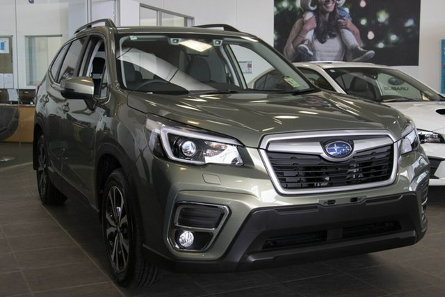 New Subaru Forester S5 MY21 2.5i Premium CVT AWD Brookvale, 2020 Subaru Forester S5 MY21 2.5i Premium CVT AWD Jasper Green Metallic 7 Speed Constant Variable