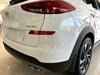 2020 Hyundai Tucson TL3 MY21 Highlander D-CT AWD Pure White 7 Speed Sports Automatic Dual Clutch