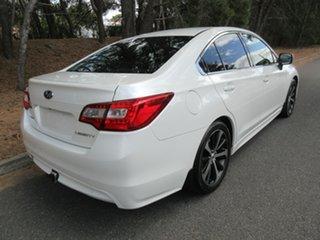 2015 Subaru Liberty B6 MY15 2.5i CVT AWD Premium White 6 Speed Constant Variable Sedan.