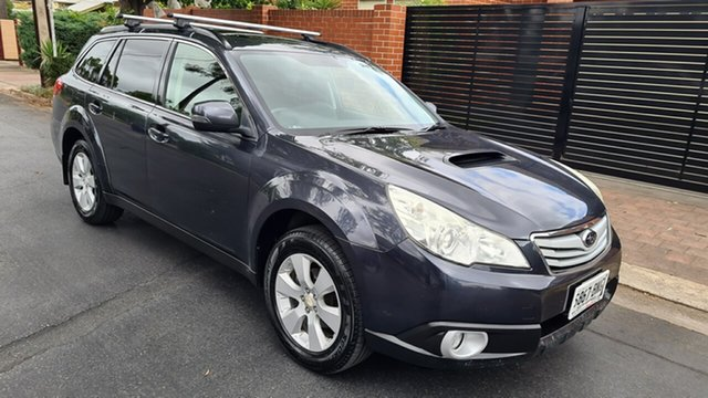 Used Subaru Outback MY11 2.0D Premium (Sat-Nav) Prospect, 2011 Subaru Outback MY11 2.0D Premium (Sat-Nav) Grey & Black 6 Speed Manual Wagon