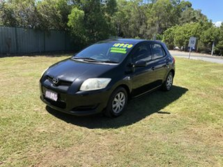 2008 Toyota Corolla ZRE152R Ascent Black 4 Speed Automatic Hatchback.