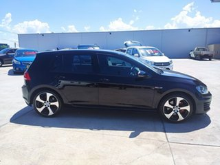 2013 Volkswagen Golf VII MY14 GTI DSG Black 6 Speed Sports Automatic Dual Clutch Hatchback