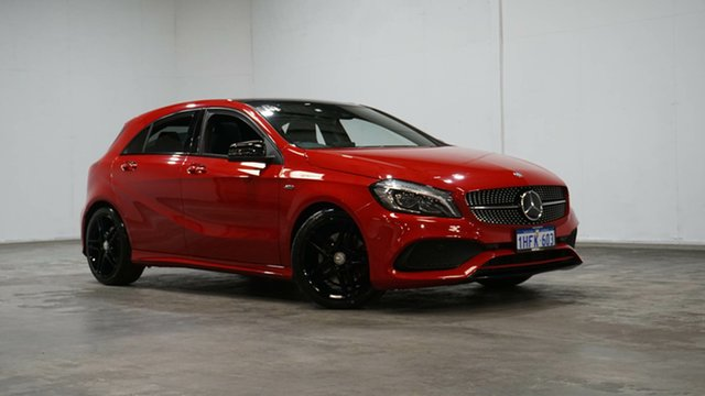 Used Mercedes-Benz A-Class W176 806MY A250 D-CT 4MATIC Sport Welshpool, 2016 Mercedes-Benz A-Class W176 806MY A250 D-CT 4MATIC Sport Red 7 Speed