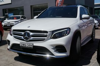 2017 Mercedes-Benz GLC-Class X253 807MY GLC250 d 9G-Tronic 4MATIC White 9 Speed Sports Automatic