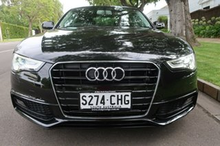 2015 Audi A5 8T MY15 Multitronic Black 8 Speed Constant Variable Coupe.